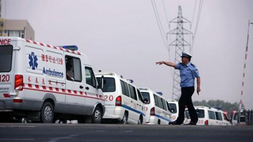 Власти Китая сообщили о 21 погибшем горняке в результате обвала на шахте