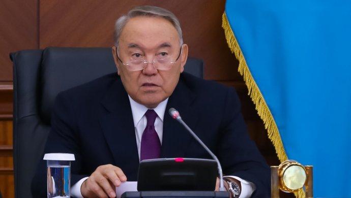 Сегодня в 19:00 Нурсултан Назарбаев выступит с обращением к народу
