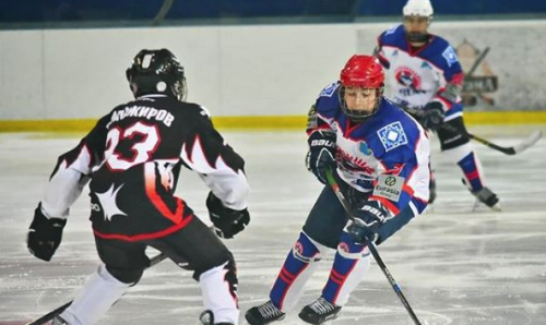 Юные хоккеисты из Кокшетау выиграли третий тур Чемпионата РК