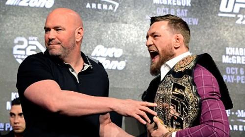 В MMA появился двойник Макгрегора