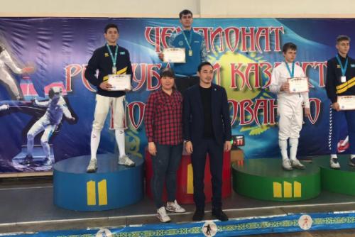 Акмолинский шпажист стал чемпионом Казахстана
