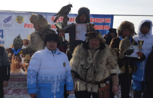 Акмолинский құсбегі стал чемпионом Казахстана