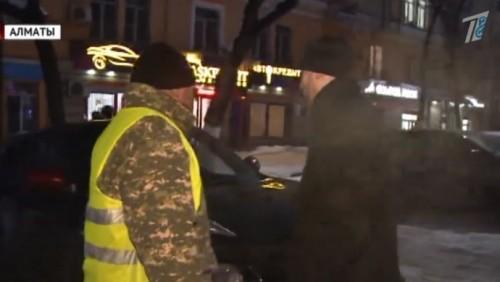 В Алматы процветает парковочный произвол