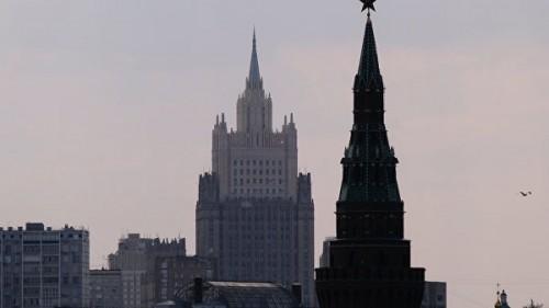 В здании МИД обнаружили тело дипломата Олега Кривова