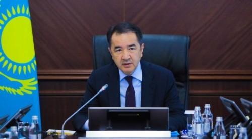 Сагинтаев поблагодарил членов правительства за работу