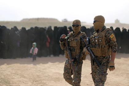 Курды захватили лагерь террористов ИГ