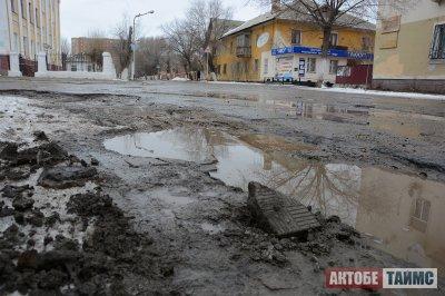 Найдены виновные в разрушении дорог в Актобе