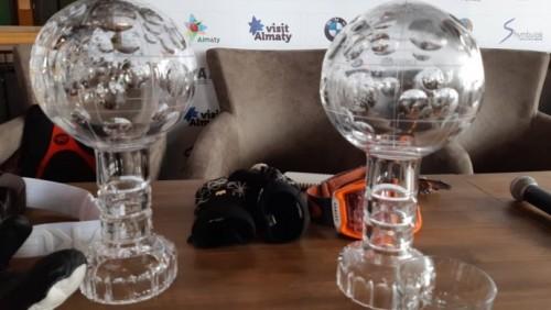 Хрустальные глобусы вручили лучшим могулистам мира в Алматы