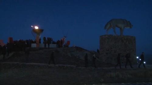 Мангистаусцы празднуют наступление нового года - Амал мерекесi