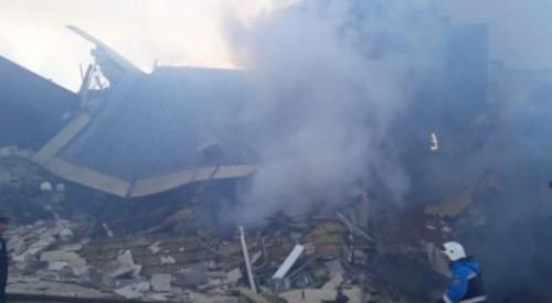 Взрыв в Астане: погибшую женщину извлекли из-под завалов