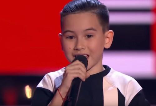 """Девятилетний казахстанец в """"Голос. Дети-6"""": Я могу угадывать мысли людей"""