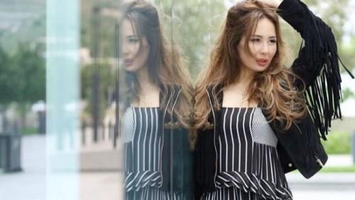 В Алматы с машины певицы сняли зеркало почти в том же месте, где убили Тена