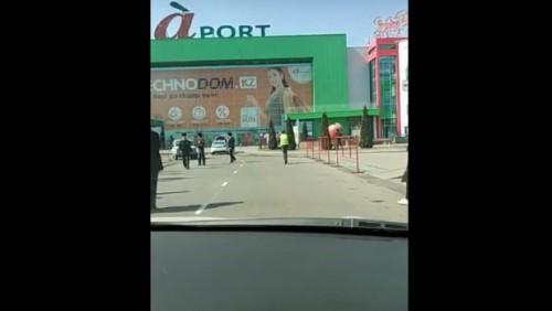 В Алматинской области эвакуировали посетителей крупнейшего ТРЦ