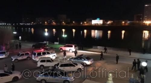 Полицейский погиб, спасая девушку в Атырау