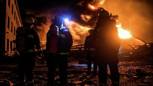 После взрыва на заводе в Китае в больницы доставили около 640 пострадавших
