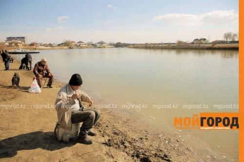 В Атырау дефицита рыбы не будет - рыбаки-любители
