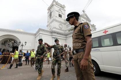 Число жертв взрывов в Шри-Ланке достигло 160