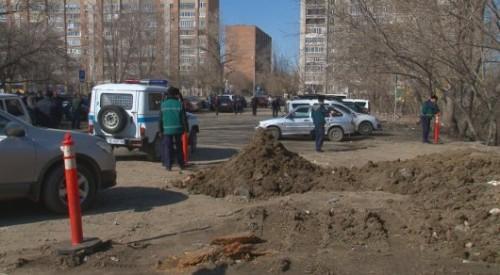 Экологов обеспокоили черепа и кости в центре Усть-Каменогорска