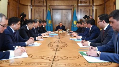 Назарбаев рассказал, для чего создана канцелярия Первого Президента РК
