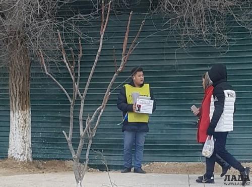 Полиция Актау взяла на контроль уличных волонтеров