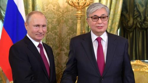 Токаев и Путин провели переговоры в Кремле