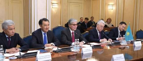 Касым-Жомарт Токаев: Главы стран ЕАЭС думают, как отметить заслуги Елбасы
