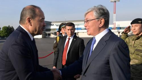 Касым-Жомарт Токаев прибыл с государственным визитом в Ташкент