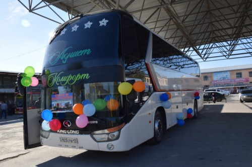 Туркестан и Самарканд получили прямую автомобильную связь