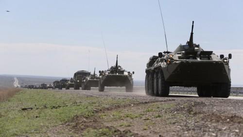 Стала известна причина перегона военной техники в Алматинской области