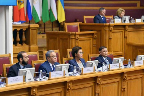 Дарига Назарбаева приняла участие в 49-ом пленарном заседании МПА СНГ