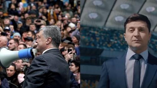 Как прошли дебаты Порошенко и Зеленского