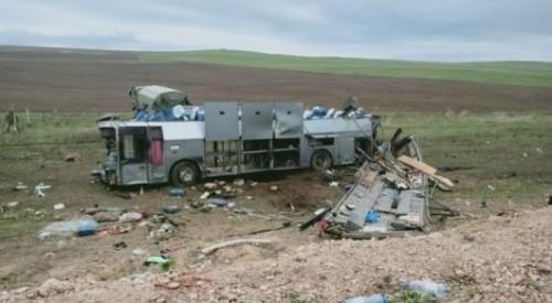ДТП близ Кордая: в автобусе были граждане Казахстана, Узбекистана и Таджикистана