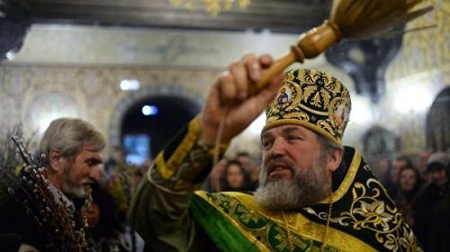 Православные празднуют Вербное воскресенье