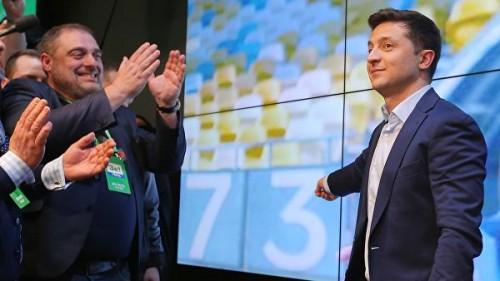 Зеленский получил рекордный для Украины уровень поддержки избирателей