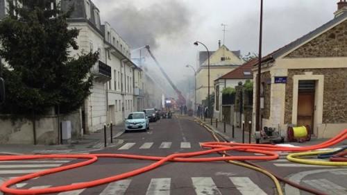 Во Франции произошел крупный пожар у дворца в Версале