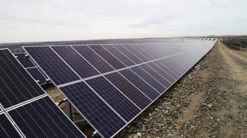 В Карагандинской области запустили вторую солнечную электростанцию