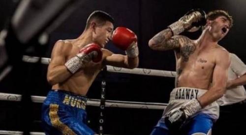 Соперник казахстанского боксера отказался выходить на ринг