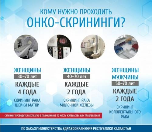 Казахстанцы пойдут на скрининг, если их отпустят с работы