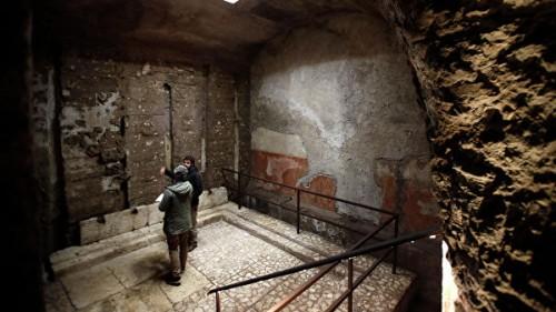 Под дворцом Нерона в Риме нашли тайную комнату