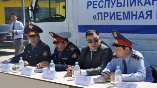 Казахстанцы смогут встретиться с начальниками полиции без предварительной записи