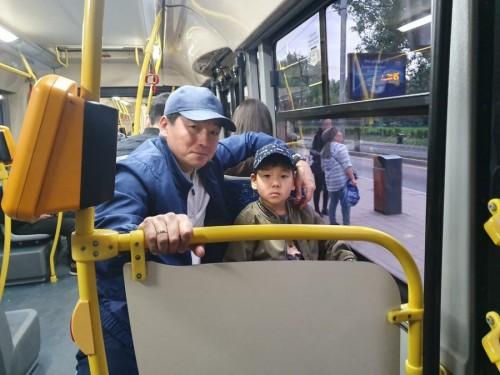 После поездки в автобусе Байбек дал ряд поручений