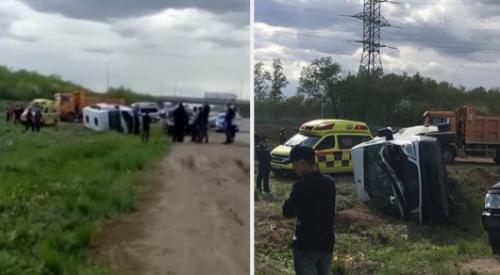Стало известно о состоянии 11 пострадавших в ДТП в Нур-Султане