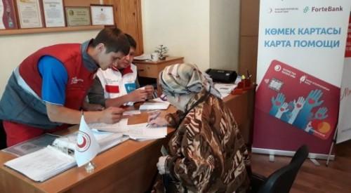 """Проект """"Карта помощи"""" помог пострадавшим от паводков жителям Кокшетау и Петропавловска"""