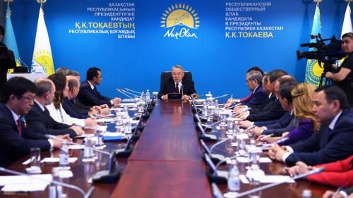 Назарбаев: В нашей стране существует политическая конкуренция