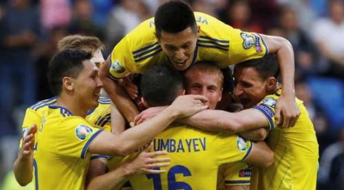 Сборная Казахстана разгромила Сан-Марино и поднялась на третье место в группе отбора на Евро-2020