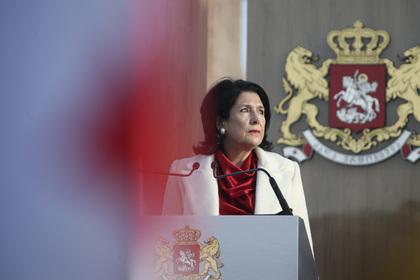 Президент Грузии вступилась за российских туристов