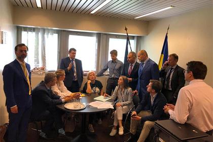 Украинская делегация приостановила работу в ПАСЕ