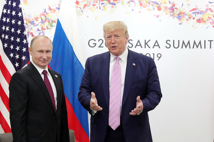 Переговоры Путина и Трампа закончились