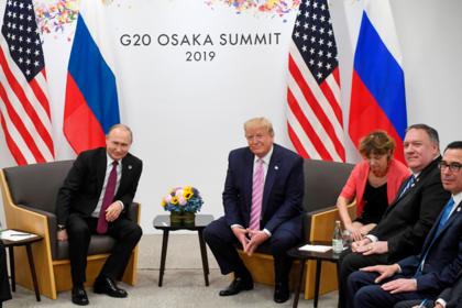Трамп сравнил встречу с Путиным с церемонией «Оскар»