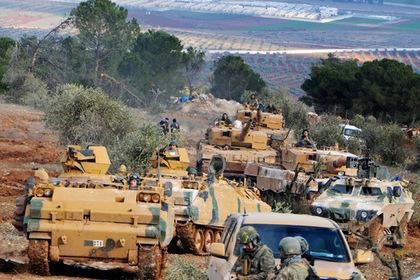 Турция перебросила спецназ и военную технику на границу с Сирией